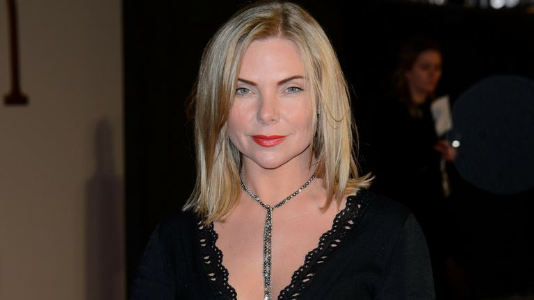Samantha Womack at the Kingsman premiere in 2015. Pic: AP