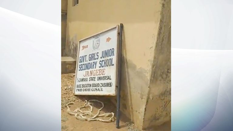 The abduction took place at a school in the northern part of the country. Pic: TheCable