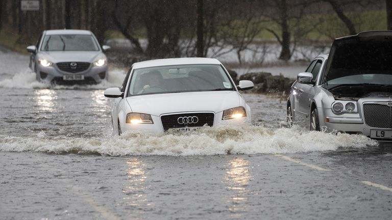 Flooding has caused chaos across the UK