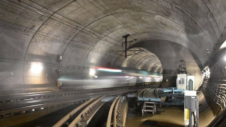 The world's longest tunnel with an undersea segment is the 33-mile Seikan Tunnel in Japan