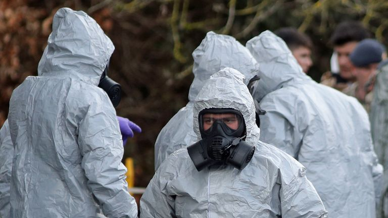 Sergei Skripal and his daughter were targeted in novichok attack in Salisbury