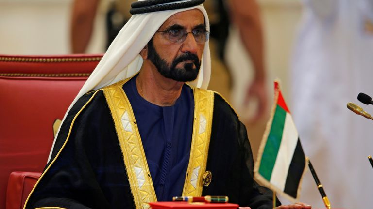 Sheikh Mohammed is attributed with turning Dubai into a global city