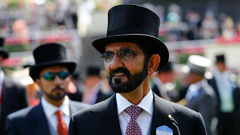 Sheikh Mohammed's Godolphin Stables is one of the most famous flat racing operations in the world