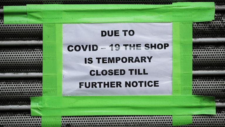 Shop shut