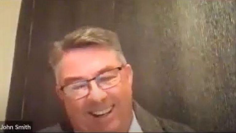 Councillor John Smith of Handforth Parish. Pic: YouTube