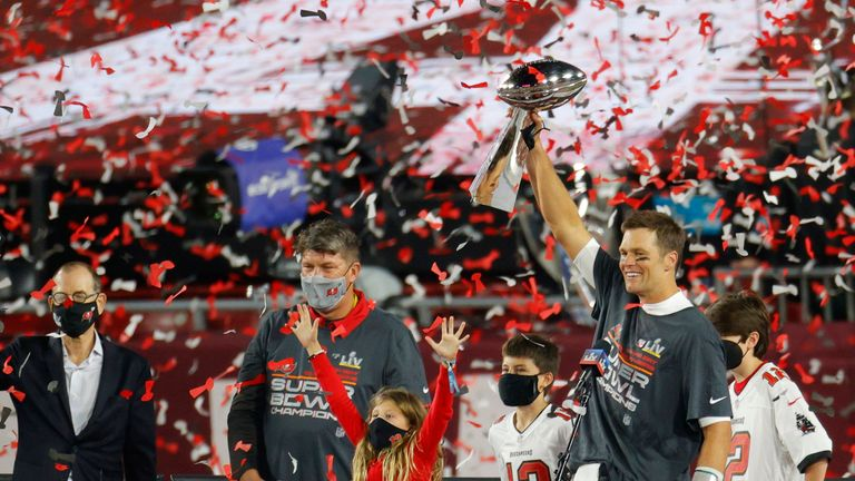 Tampa Bay Buccaneers have won the 2021 Super Bowl