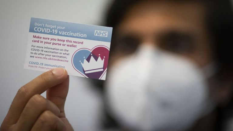 The UK is facing questions about its vaccination strategy
