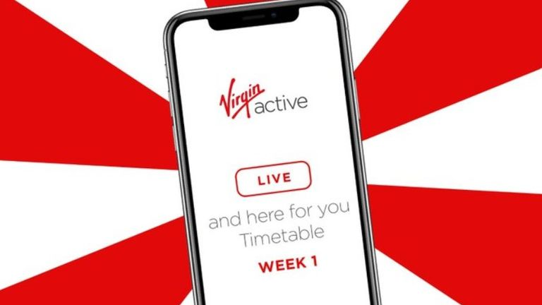 Virgin Active is among chains to offer workout routines online amid COVID-19 restrictions on gyms