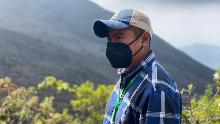 Alexander Rodas says 'there's no chance of survival' if the volcano's eruptions intensify
