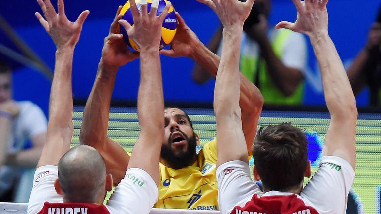 Pallavolo - Campionati Mondiali Maschili Italia - Bulgaria 2018 - Finale - Brasile vs Polonia - Pala Albitor, Torino, Italia - 30 settembre 2018