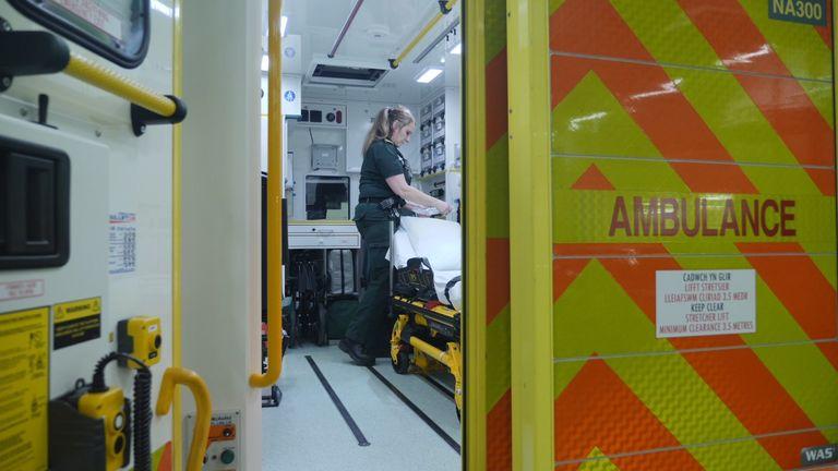 Emergency Medical Technician Vicki Moran