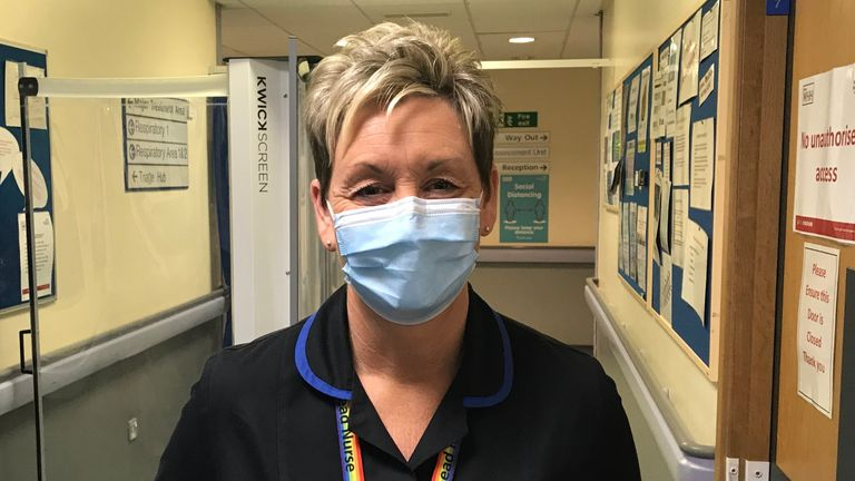 Ali Crawford, lead nurse urgent & emergency care Warrington Hospital