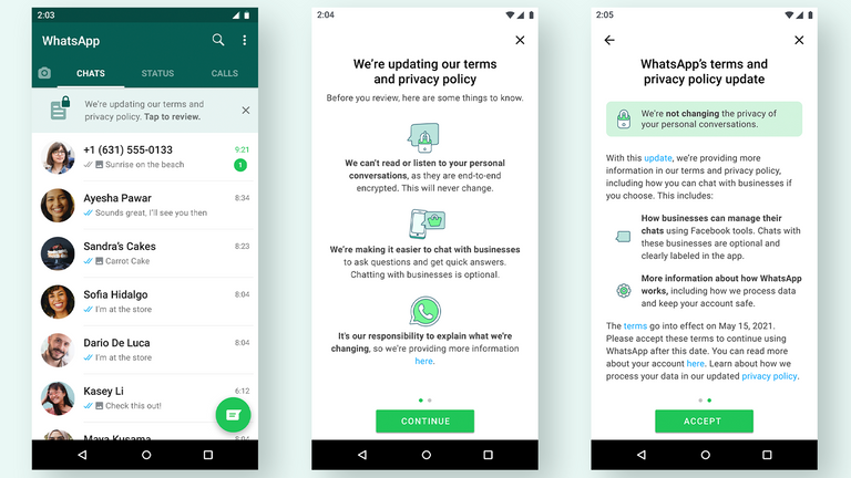 WhatsApp is bringing back its privacy policy update