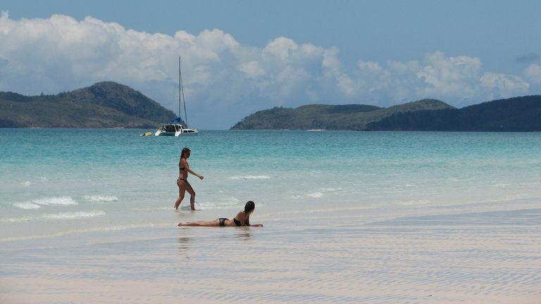 Whitehaven beach in Australia was ranked the world's best beach