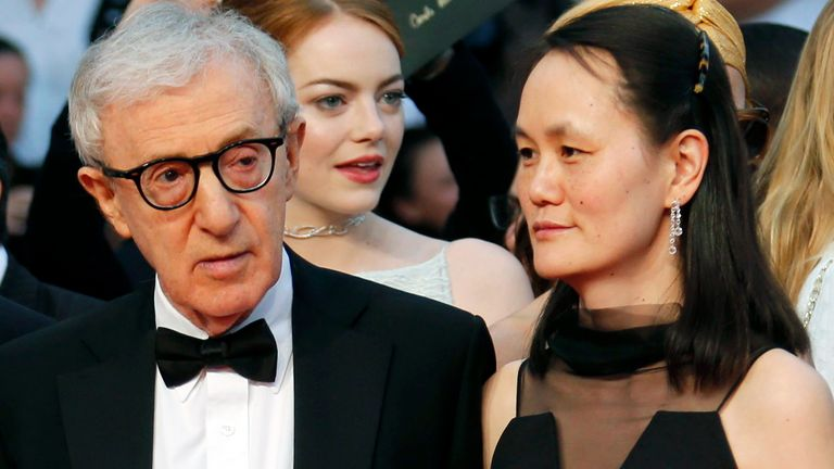 The four-time Oscar-winner and his wife say the allegations are 'categorically false'