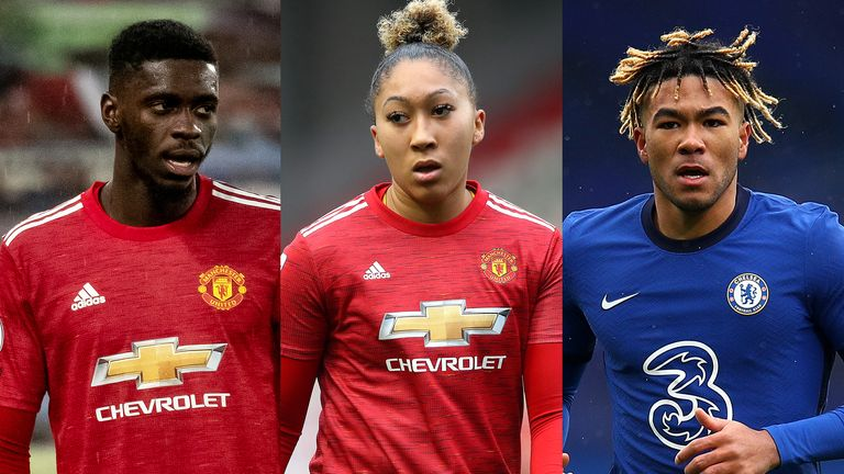 Axel Tuanzebe, Lauren James and brother Reece have all been subjected to racist abuse on social media in recent weeks