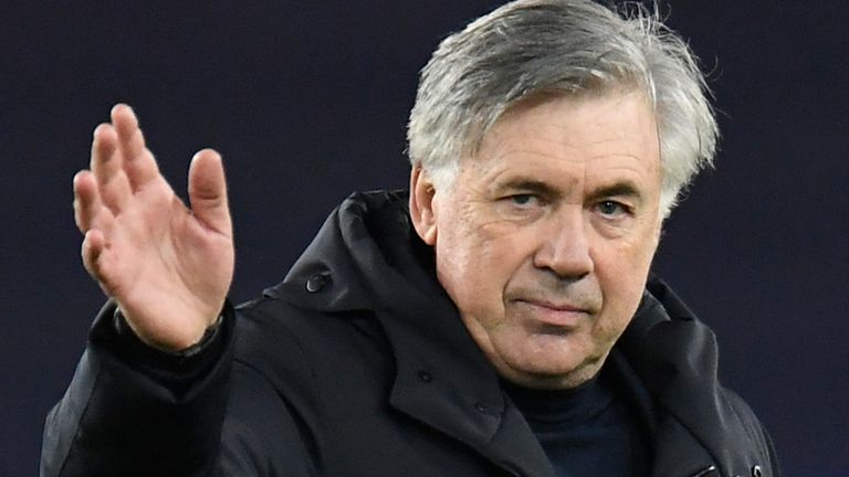 Everton boss Carlo Ancelotti says it is time to move on from their historic win over Liverpool at Anfield and concentrate on the battle for European qualification.
