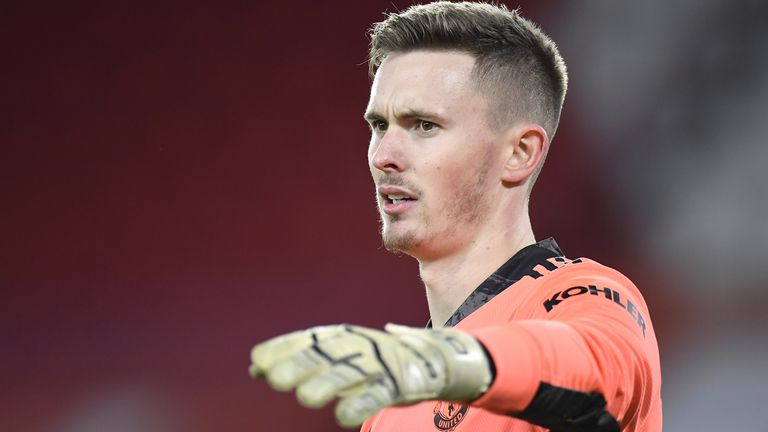 Ole Gunnar Solskjaer admits Dean Henderson is 'not the most patient guy' as he competes with David de Gea to be Manchester United's No 1