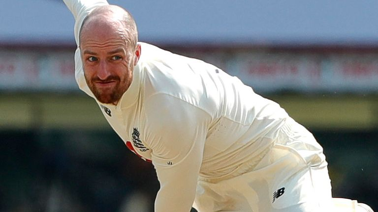England spinner Jack Leach says coming through tough moments in matches is helping him grow in confidence and belief.