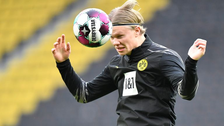 The Daily Telegraph's Matt Law believes City are favourites to sign Haaland