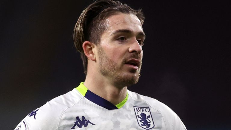 Jack Grealish has scored seven goals for Aston Villa this season