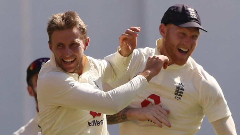 BCCI Credit - Joe Root (captain) of England  celebrates the wicket of Rishabh Pant of (WK) India during day two of the third PayTM test match between India and England held at the Narendra Modi Stadium , Ahmedabad, Gujarat, India on the 25th February 2021..Photo by Pankaj Nangia / Sportzpics for BCCI