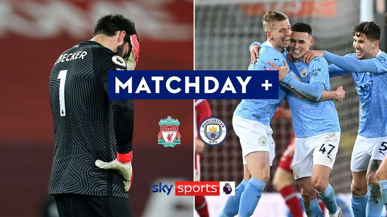 Rewatch all the best bits of action from a pulsating game at Anfield between Liverpool and Manchester City from camera angles you didn't see live!
