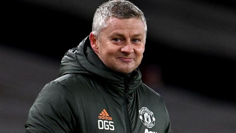 Manchester United manager Ole Gunnar Solskjaer (PA image)