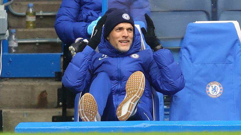 Chelsea head coach Thomas Tuchel (AP image)