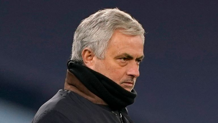 Jose Mourinho's Tottenham have lost four out of their last five Premier League games and have also been knocked out of the FA Cup.