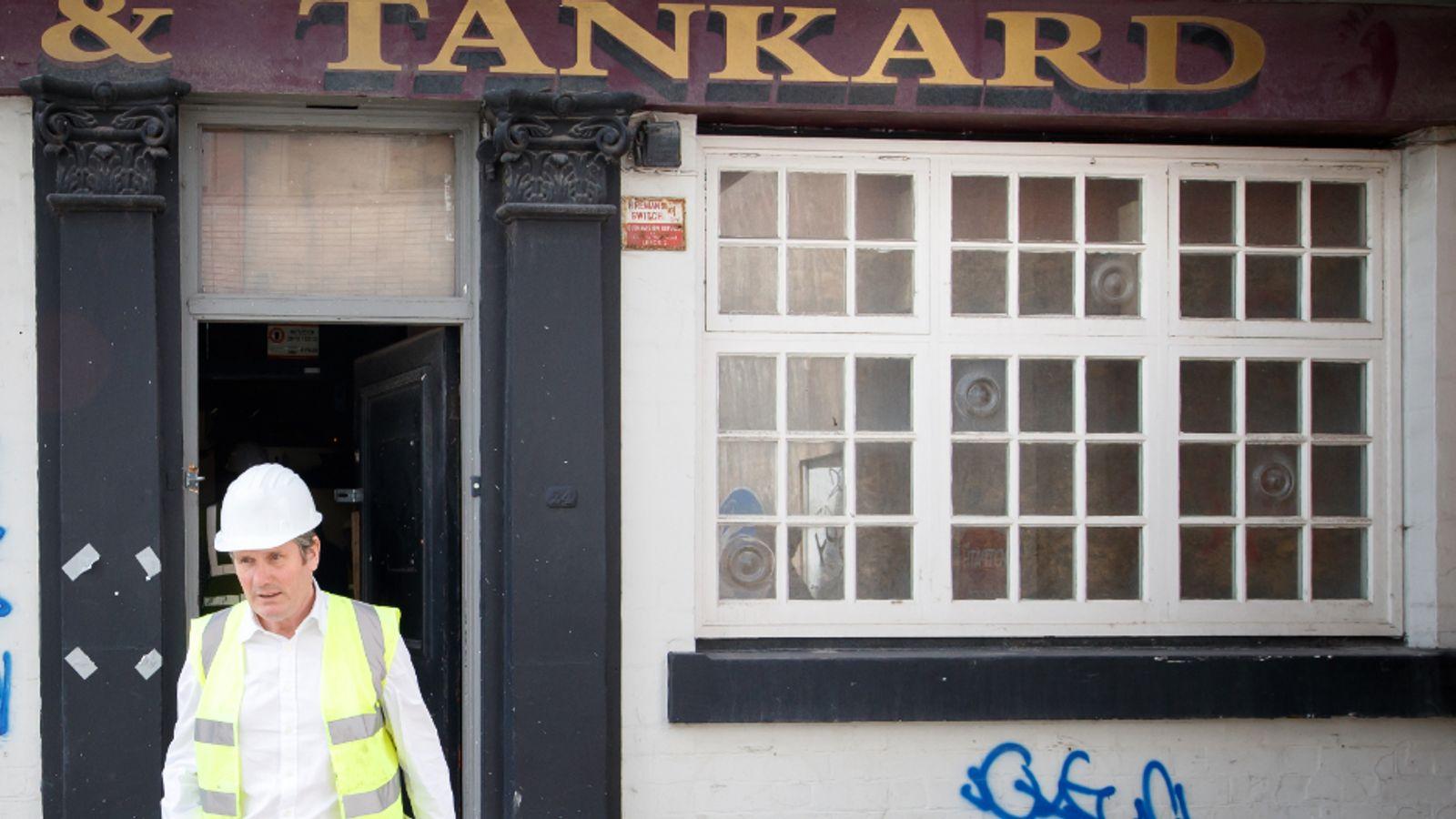 COVID-19: 'British instinct' against vaccine passports for pub, says Labour leader Sir Keir Starmer