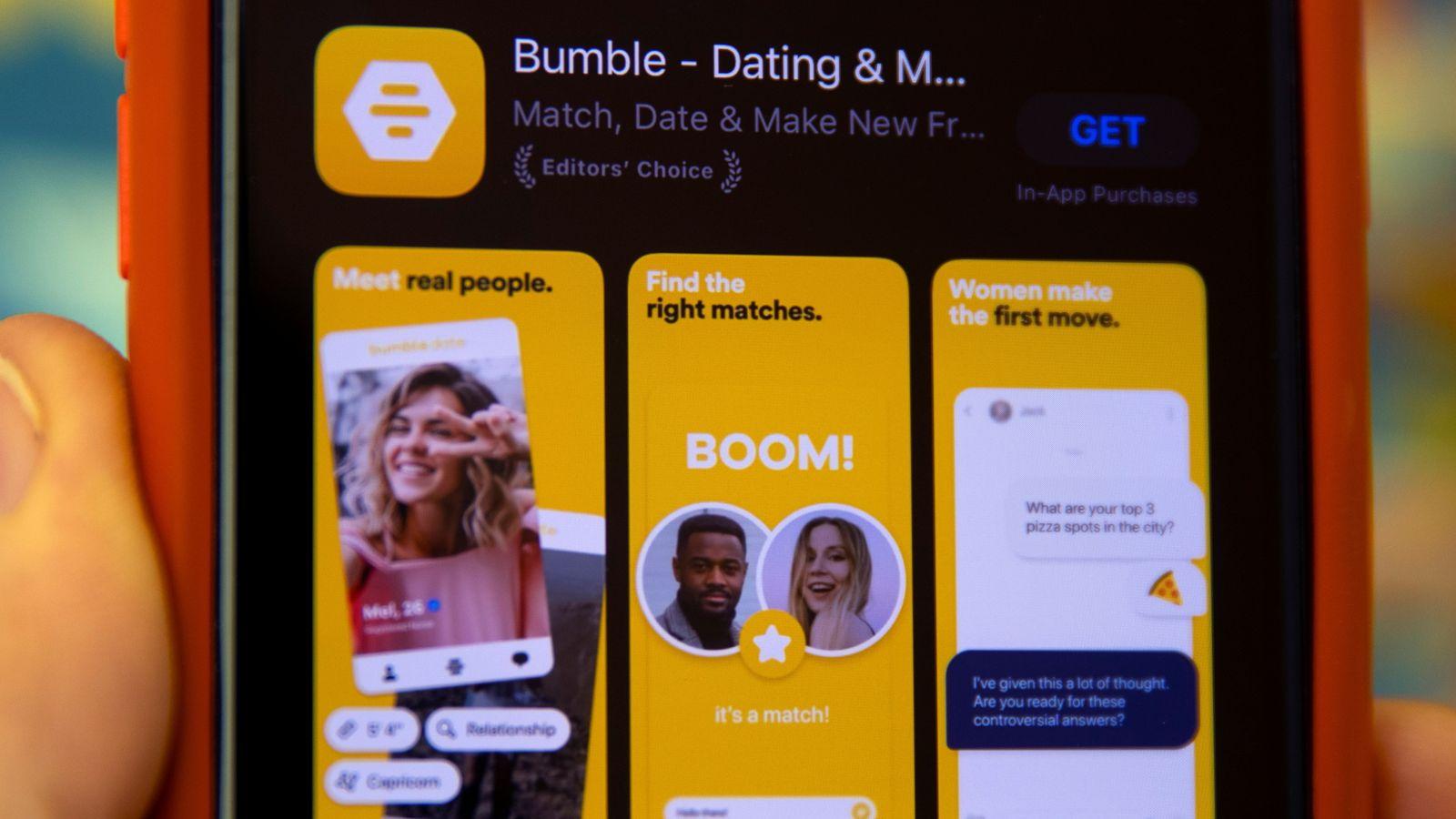 bumble dating app kosten