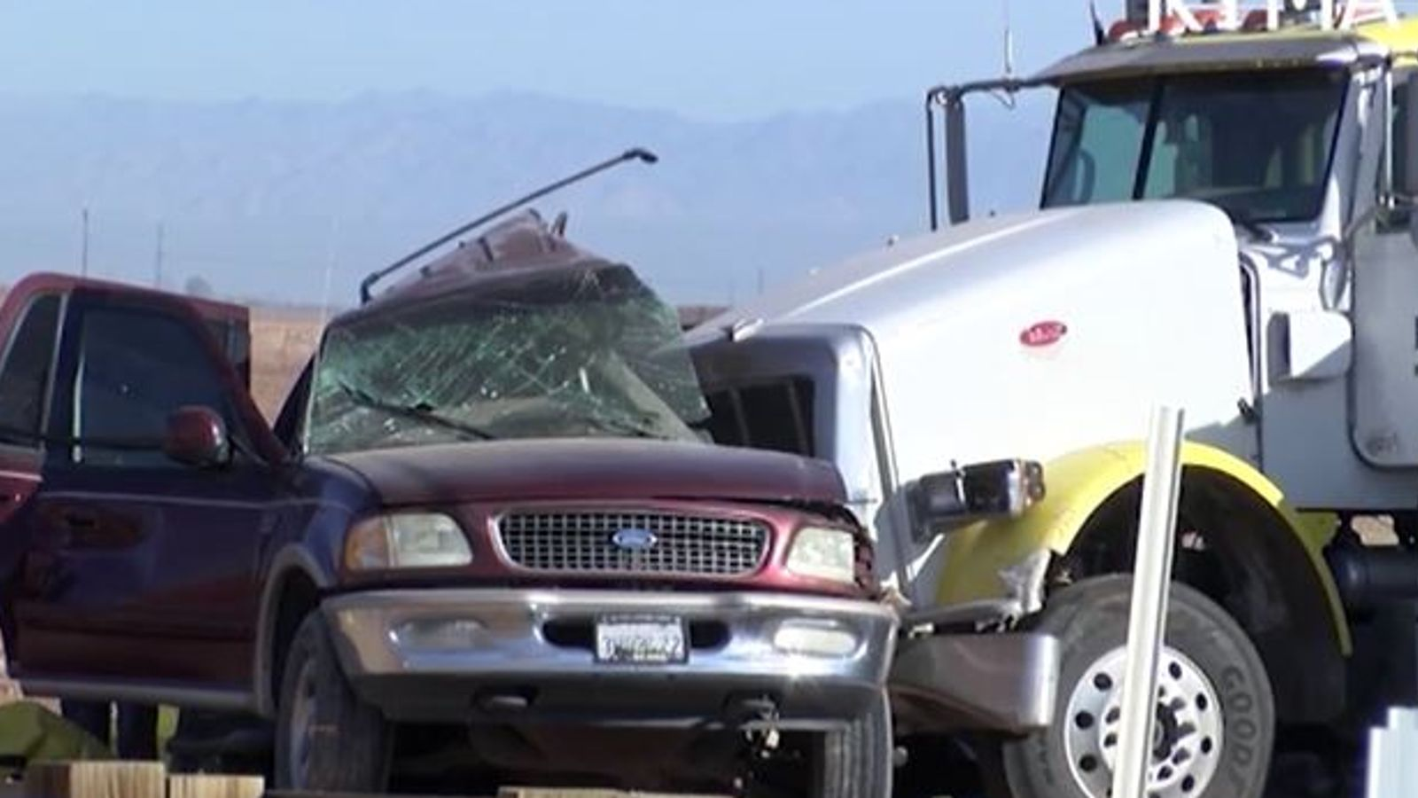 At the very least 13 folks die after SUV hits truck carrying gravel close to US-Mexico border