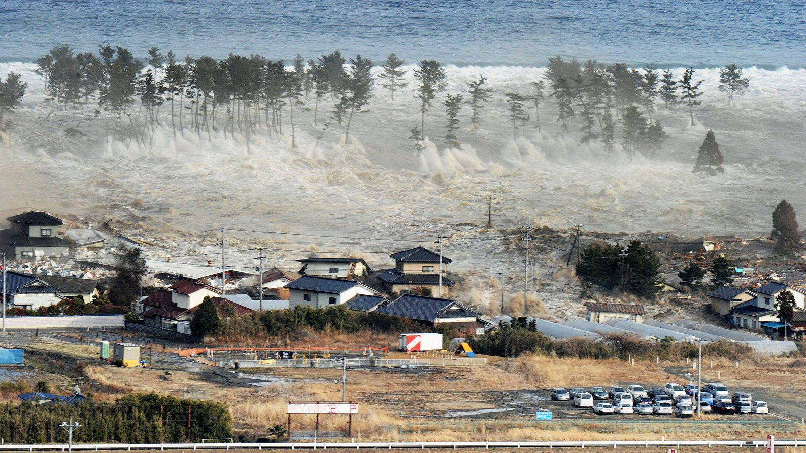 Japan tsunami: Ceremony held to remember deaths and devastation caused by huge quake 10 years ago