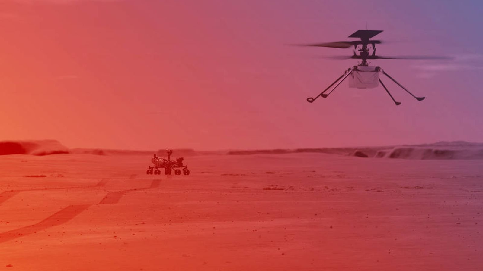 Mars helicopter Ingenuity survives first night alone ahead of flight