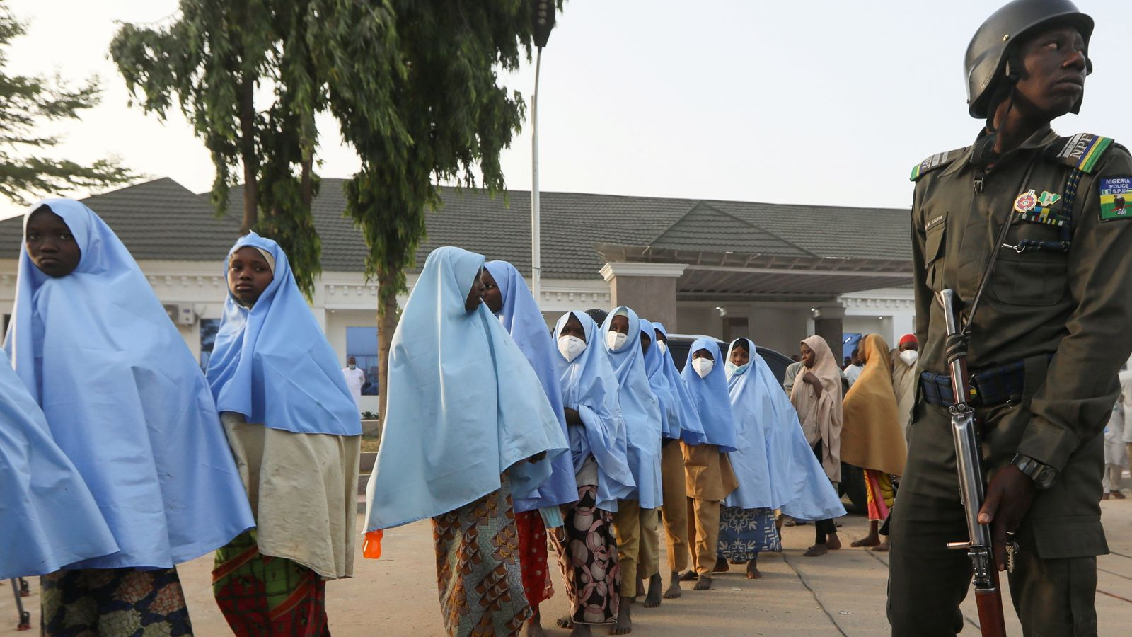 Nigeria: Released schoolgirls say kidnappers threatened to shoot them during three-day mass abduction