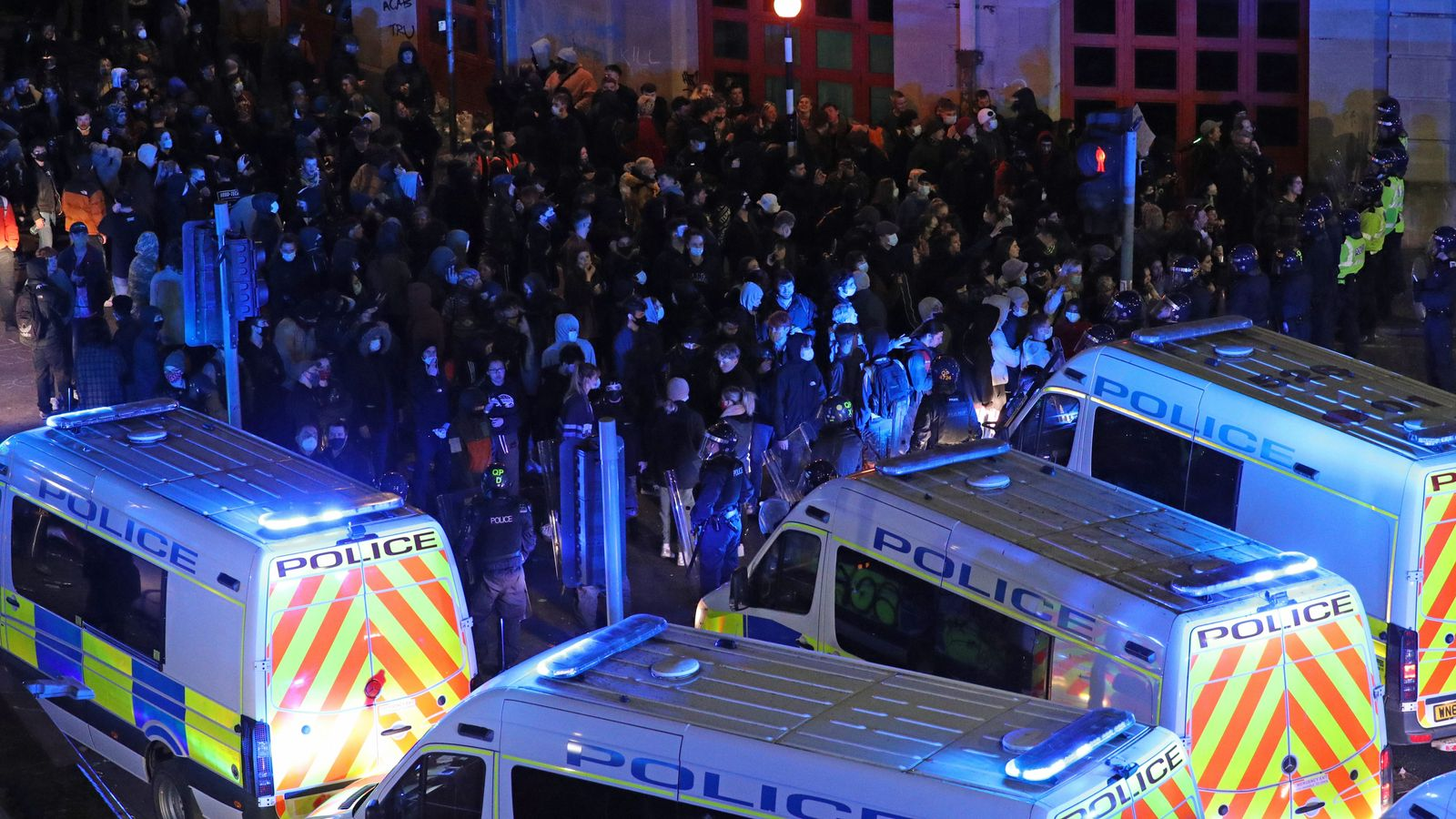 Bristol 'Kill the Bill' riot: Five sentenced over unrest outside Bridewell police station
