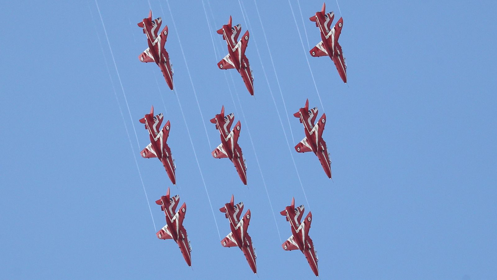 Red Arrows grounded after Hawk T1 jet crash - pilots are stable after first Navy ejection in 18 years