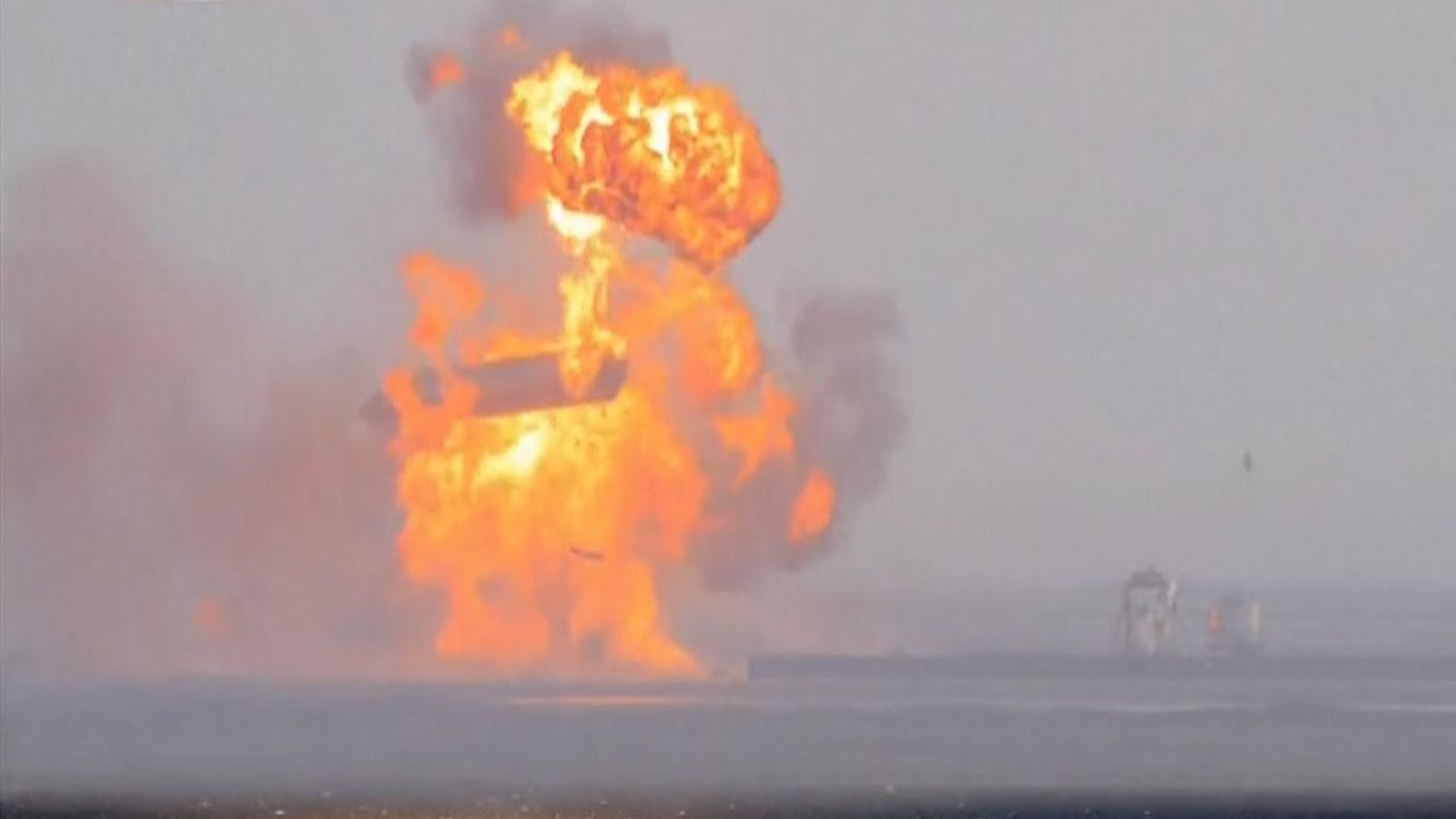 Third time shouldn't be a allure: SpaceX's rocket lands however then explodes