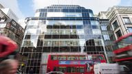 General view of Goldman Sachs' UK headquarters, in Fleet Street, London. The bank is one of several rumoured to be planning a move to Frankfurt after the UK's decision to leave the European Union. PRESS ASSOCIATION Photo. Picture date: Friday November 18th, 2016. Photo credit should read: Matt Crossick/PA Wire
