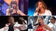 Grammy nominees. Pics: Evan Agostini/Invision/AP/Andrew White/Parkwood/PictureGroup/Shutterstock/Reuters/Mark Von Holden