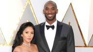 Kobe Bryant and his wife, Vanessa, pictured in 2018