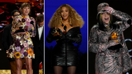 Taylor Swift, Beyonce and Billie Eilish all picked up top gongs. Pics: AP