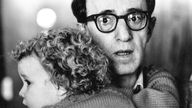 Woody Allen with Dylan Farrow in 1987. Pic: PA