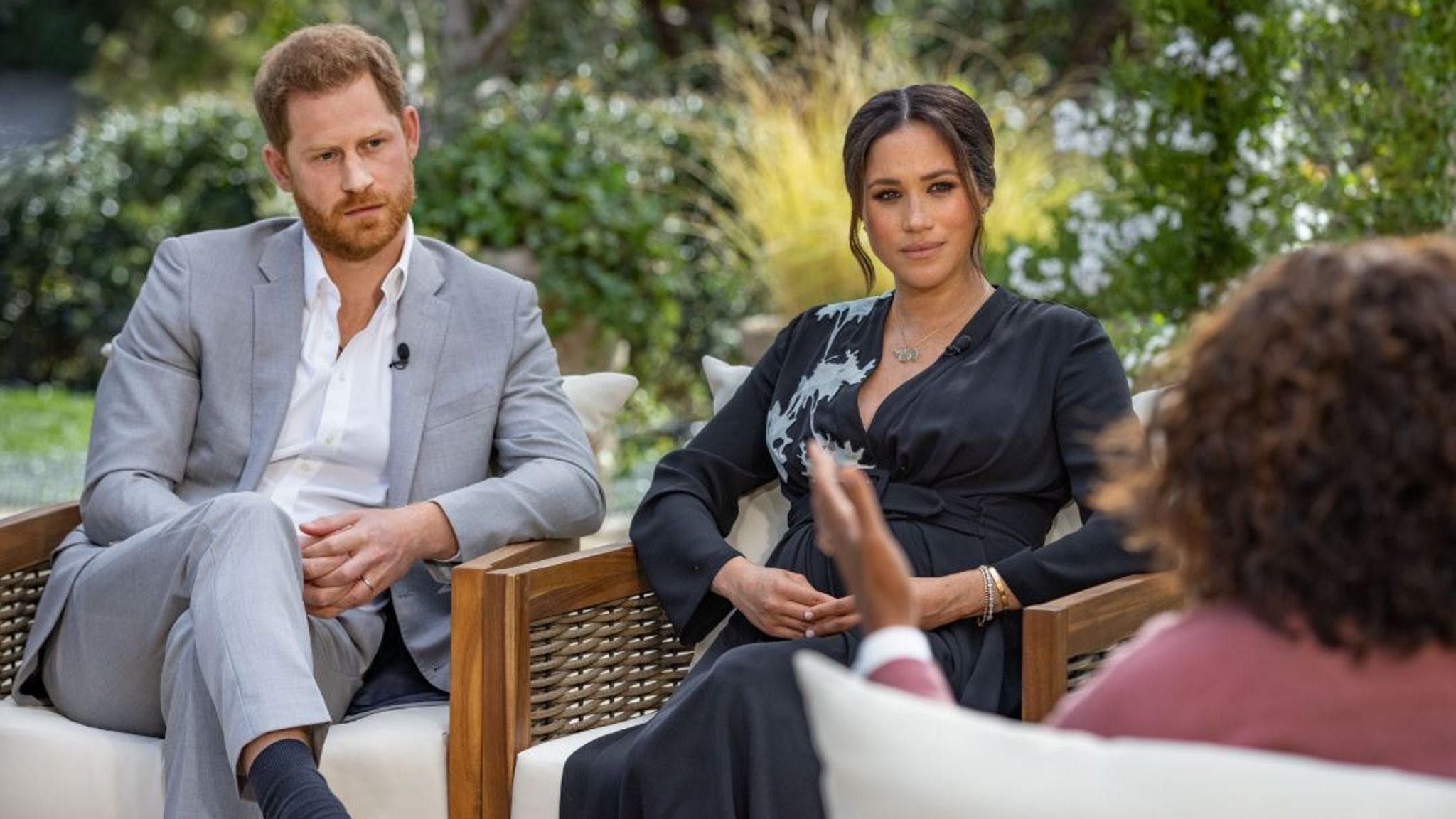 Meghan and Harry interview: Palace silent and public divided after couple's  bombshell Oprah discussion airs in UK | UK News | Sky News