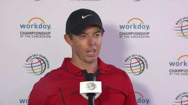 McIlroy: We're all rooting for Tiger