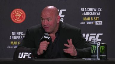 White slams judging at UFC 259