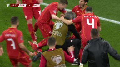 North Macedonia's late winner vs Germany