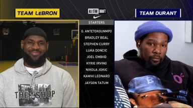 LeBron and KD pick All-Star Starters