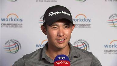 Morikawa celebrates big WGC win